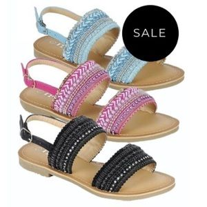 Other - Sandals Beaded Little to Big Girl Sizes 9-13 & 1-4